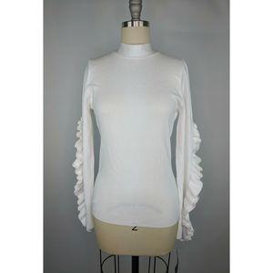 Rachel Roy Sweater sz M Callum Open-Back NWT $99